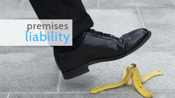 Premises liability slip and fall business injury