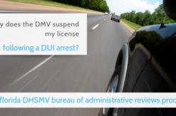 dmv bureau of administrative reviews dui suspension