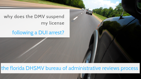 dmv bureau of administrative reviews dui suspension